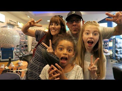 TRAVEL DAY!! DOWNTOWN DISNEY, SHOPPING! || California Vlogs Day 1