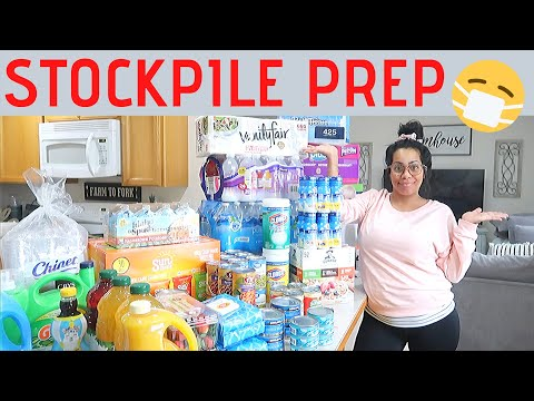 HOW TO PREPARE   EMERGENCY FOOD SUPPLY   PANDEMIC PREPPING SUPPLIES TO STOCKPILE   CRISSY MARIE