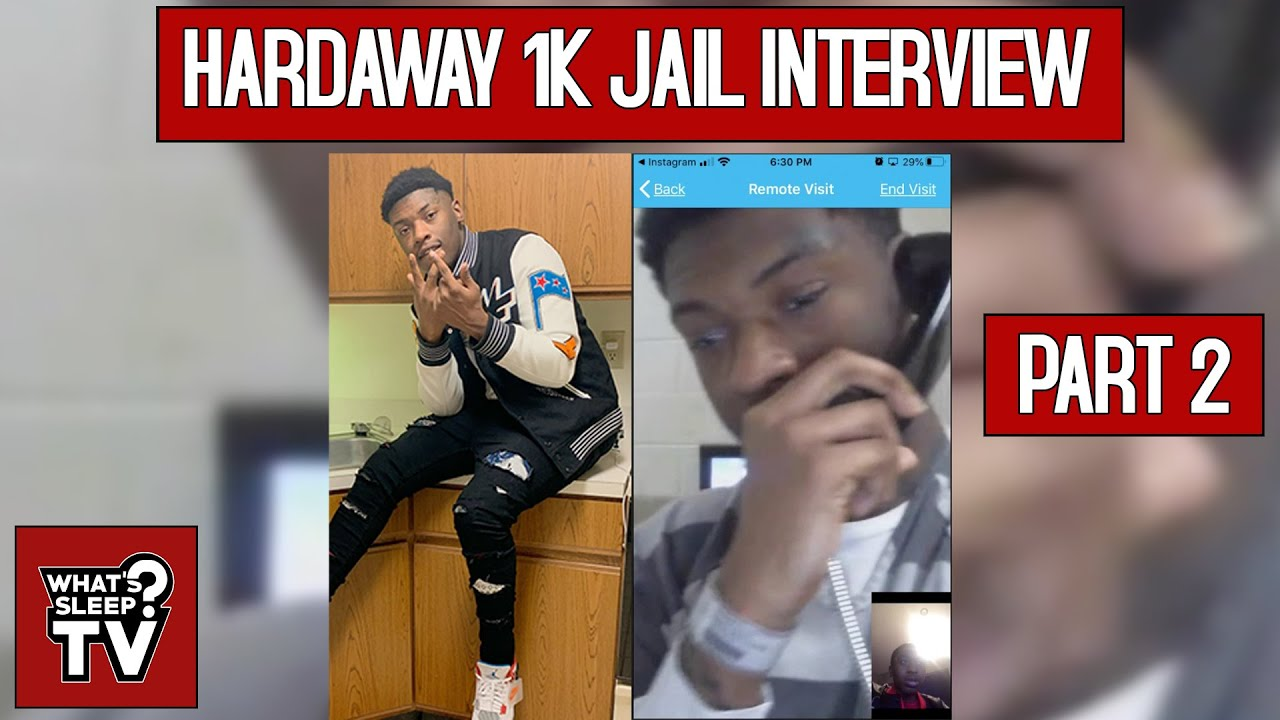 Hardaway 1k On Resolving Beef With Yung Honcho, Says They're In The Same Jail, & Salutes Slatt Zy