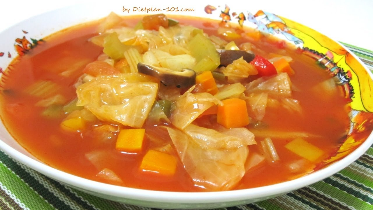 Original Cabbage Soup Recipe For Cabbage Soup Diet Dietplan 101 Com Youtube