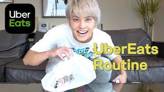 手越祐也のウーバーイーツ ルーティン~UberEats Routine~【至高のメニュー】
