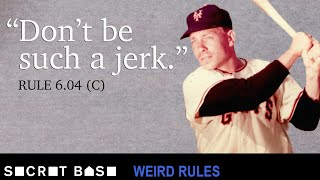 The bench clearing brawl caused by jumping jacks | Weird Rules w/ Jon Bois