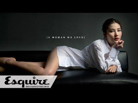 """[Esquire Talks 7–2017] Diễm My 9X: """"Tôi cho rằng 99.99% đàn ông thích nhìn phụ nữ đẹp"""""""