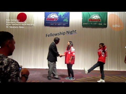 Fellowship Night (2018 PONY BRONCO ASIA PACIFIC ZONE)