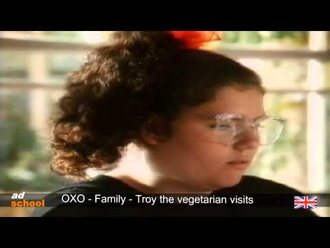 Oxo - Family - Troy the Vegetarian visits - Alison is smitte