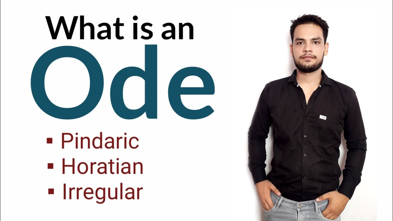Download Ode : Form of Poetry in Hindi Pindaric, Horatian, and Irregular