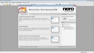 Curso Nero Buring Rom 11 Básico - 01 La Ventana Principal