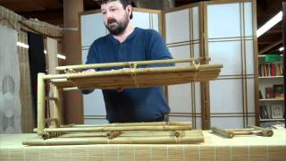 DharmaCrafts: Bamboo Shoe Rack Assembly Video