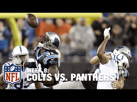 Charles Tillman Picks Off Andrew Luck | Colts vs. Panthers | Week 8
