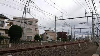 【西武】52席の至福 所沢~西所沢通過