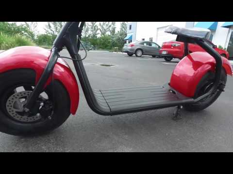 New City CoCo Lithium 60v Electric Scooter