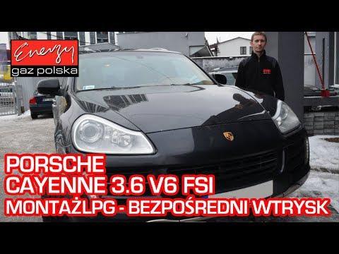 Montaż LPG Porsche Cayenne 3.6 FSI 290KM bezpośredni wtrysk w Energy Gaz Polska na auto gaz Zavoli