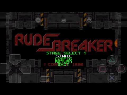 RetroArch) Rude Breaker (PC98) - Stage 1 (Space 1)