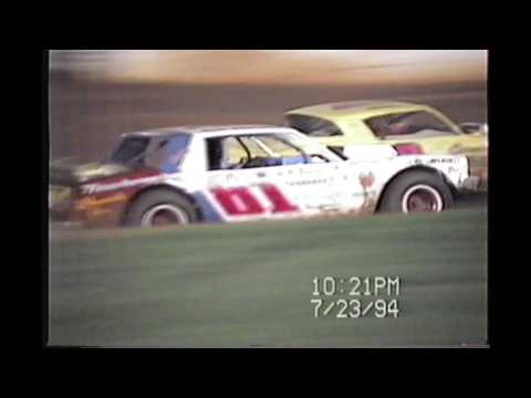 Dixie Speedway 1994 Racing Action!