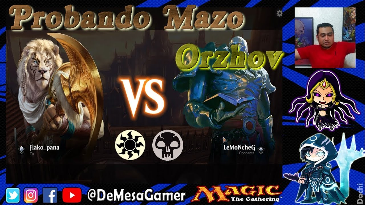 Probando Mazo Orzhov Vampiros Chupavidas Magic Tga Youtube