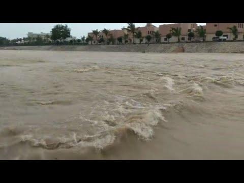 Les habitants d\'Oman se préparent à l\'arrivee du cyclone