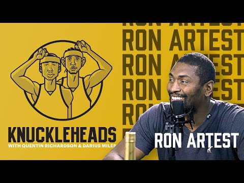 Ron Artest Keeps It Real With Darius Miles and QRich   Knuckleheads S2: E2   The Players' Tribune
