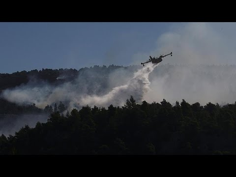 France 24:EU sends help to Greece as firefighters battle wildfire near Athens