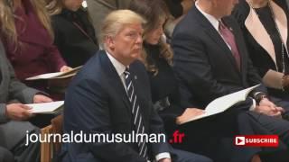 Donald Trump ecoute le coran
