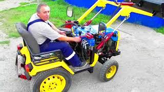 видео Использование мини-трактора в домашнем хозяйстве