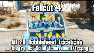 fallout 4 all bobbleheads locations guide they re action figures achievement trophy guide
