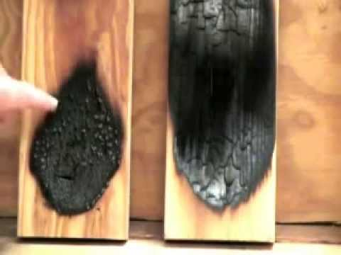 Fire Retardant Coating for Wood