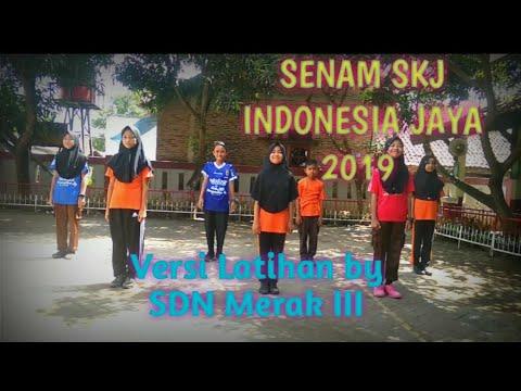 Senam SKJ 2018 Indonesia Jaya Versi Latihan By SDN Merak III
