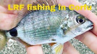 LRF fishing in Corfu - Boukari April 2018