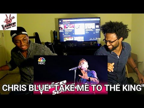 "The Voice 2017 Chris Blue - Semifinals: ""Take Me to the King"" (REACTION)"