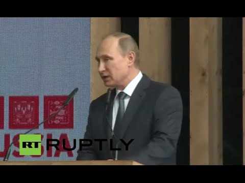 LIVE:  Putin & Italian PM Renzi hold presser following Milan Expo meet-up
