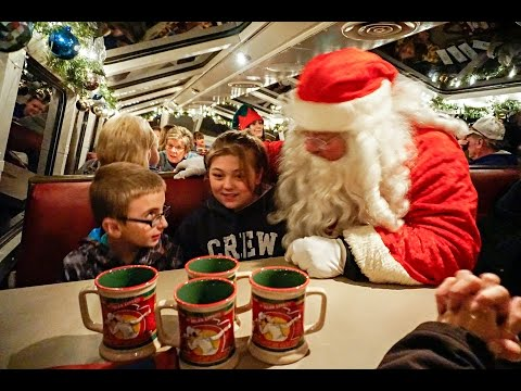 THE POLAR EXPRESS! - Santa's on the Train! | TheSmoaks Vlog_031