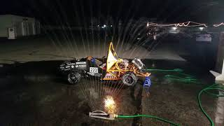 HyTech Racing Rain Test @ Formula Hybrid 2018