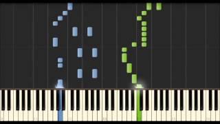 Repeat youtube video Shingeki no kyojin op 1 (Attack on Titan) Piano Tutorial Arragement byTenshi Minamoto