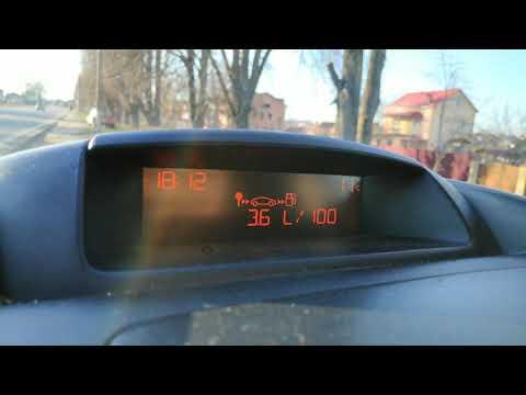 Peugeot Partner 1.6 HDi. Расход топлива.