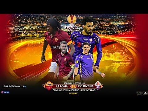 Roma 0 - 3 Fiorentina Goal Highlight 19/03/2015