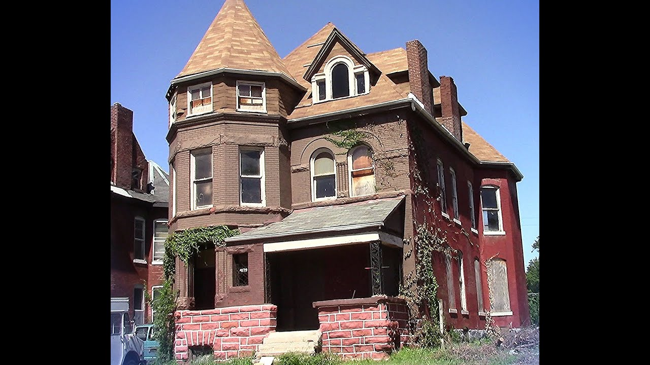 Giant 3 story abandoned victorian super old home st louis for 3 story victorian house