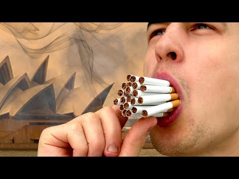 Is Sydney's Air Worse Than Smoking 34 Ciggies?