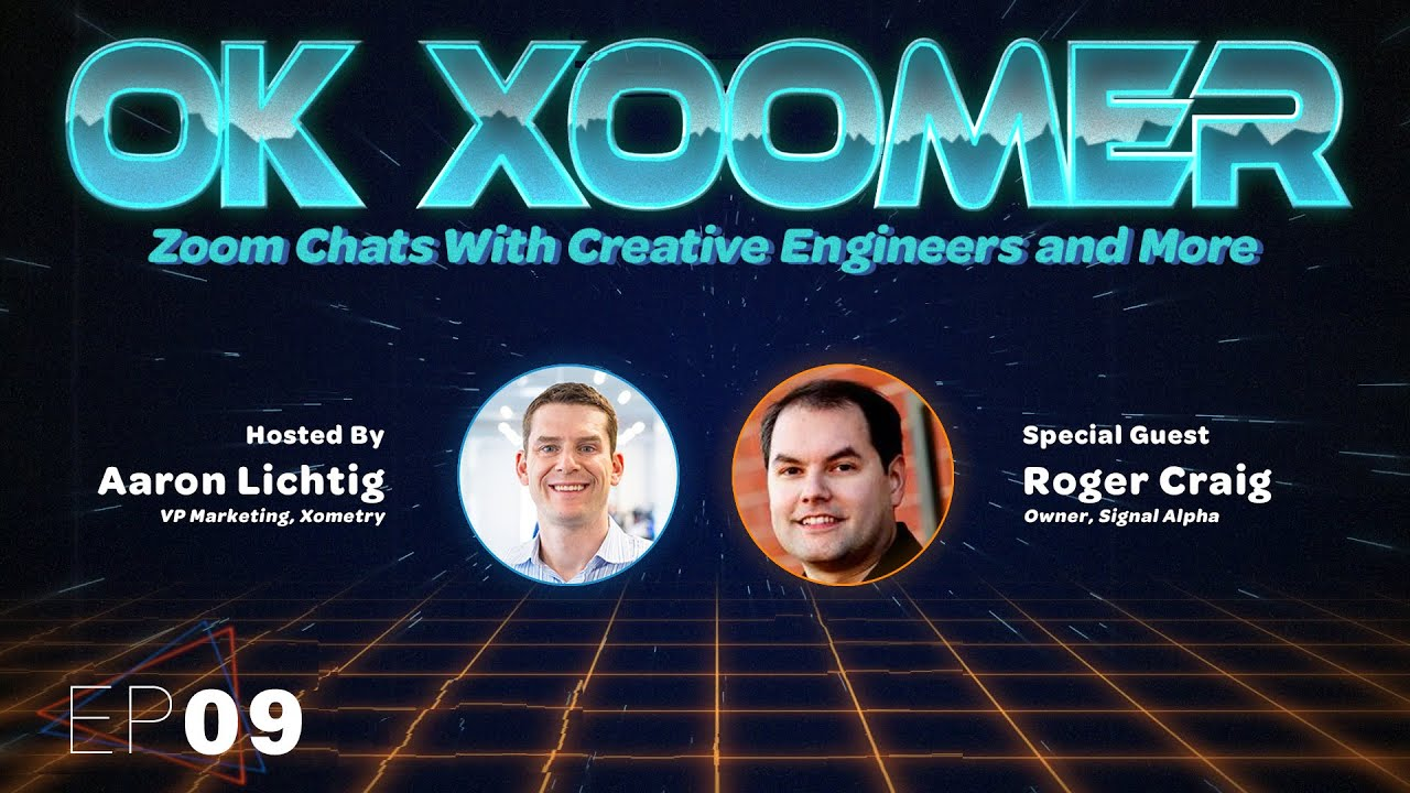 Ok Xoomer EP09 | Roger Craig | Dishing on Jeopardy! and Telling Stories With Data