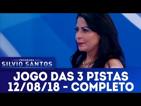 Jogo das 3 Pistas com Sylvia Design e Lilian Gonçalves | Programa Silvio Santos (15/07/18)