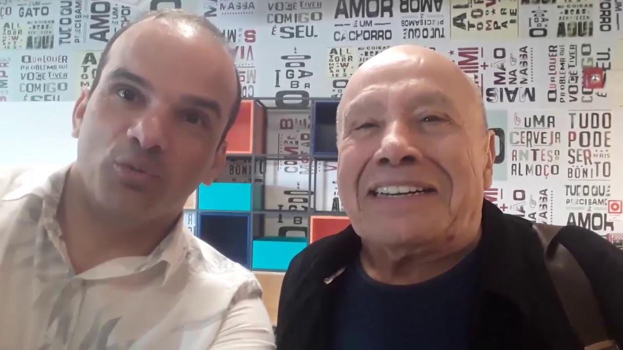 ESTÚDIO DA RÁDIO GLOBO RECIFE - FM 97.1 (TONINHO BONDADE E STÊNIO GARCIA)