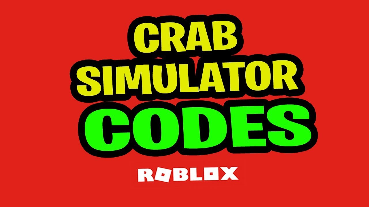 All Codescrab Simulator All Codes Buy New Skins And Collect Roblox - Roblox Crab Simulator Codes