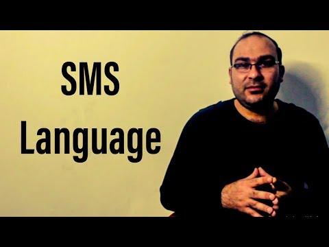 SMS Language - Chat Language