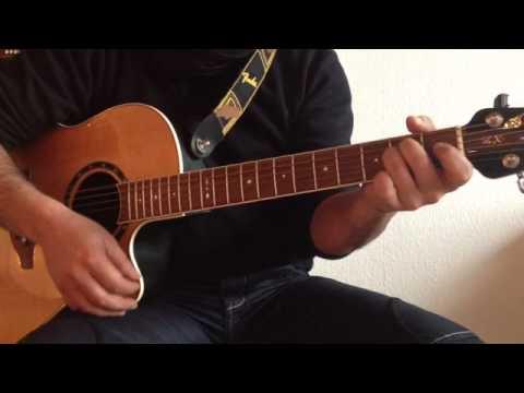 """""""Dieser Weg"""" auf Gitarre - Xavier Naidoo auf Gitarre spielen"""
