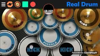 DJ REGGAE SLOW SAAT SA MULAI SAYANG ORIGINAL REMIX 2018  ( cover real drum android)