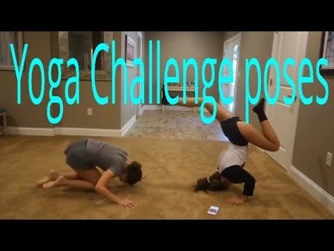 yoga challenge poses  youtube