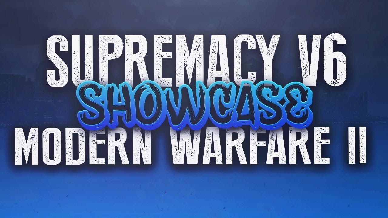 (PS3/MW2) Supremacy V6 Showcase (paid menu)