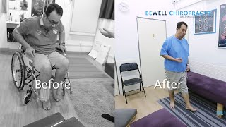 Slip Disc, UNABLE TO WALK - Fixed by Dr Michiko Gonstead Chiropractor Bewell Chiropractic