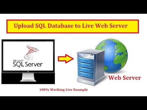 Easily Upload Local SQL Database To Live Web Server (Hosted SQL Server)   Hindi   Free Online Class