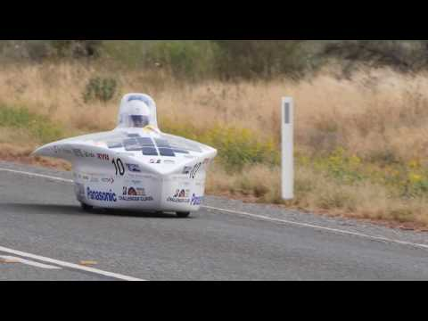 Panasonic Tokai University Solar Car at 2017 Bridgestone World Solar Challenge #BWSC17