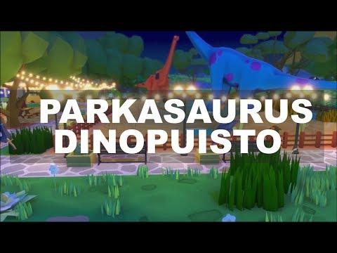 Testissä Parkasaurus | Rakennetaan oma dinopuisto! Aww 😂😂